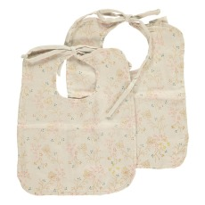 product-Camomile London Minako Floral Reversible Bibs - Set of 2
