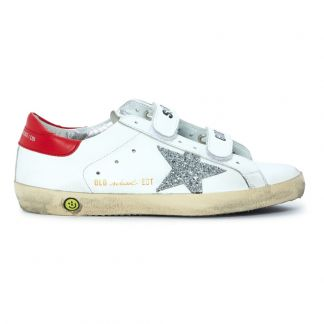 Golden Goose Deluxe Brand Old School Velcro Sequined Trainers -listing 1f80588f8
