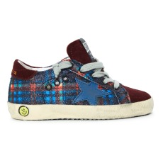 product-Golden Goose Deluxe Brand Superstar Checkered Trainers