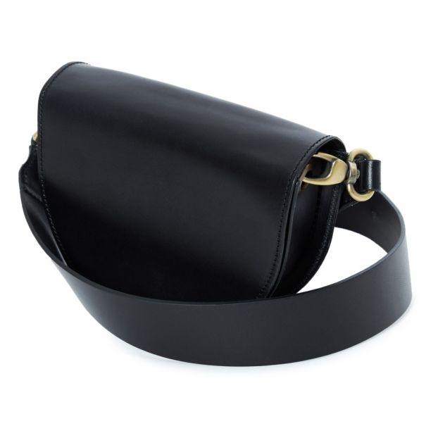 07ae4d516af8 Luna Vegan Leather Bag Black Vereverto Fashion Adult
