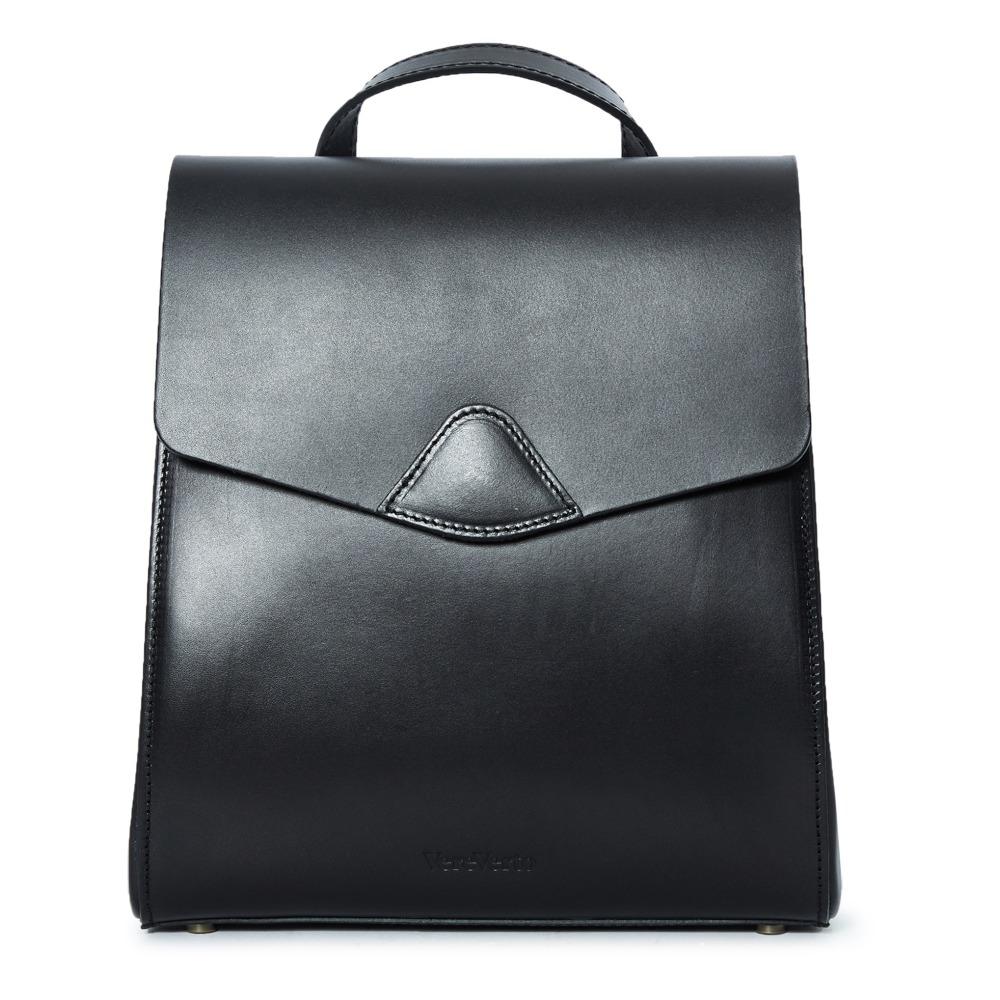 7acdea37db78 Mini Macta Vegan Leather Backpack Black Vereverto Fashion Adult. «