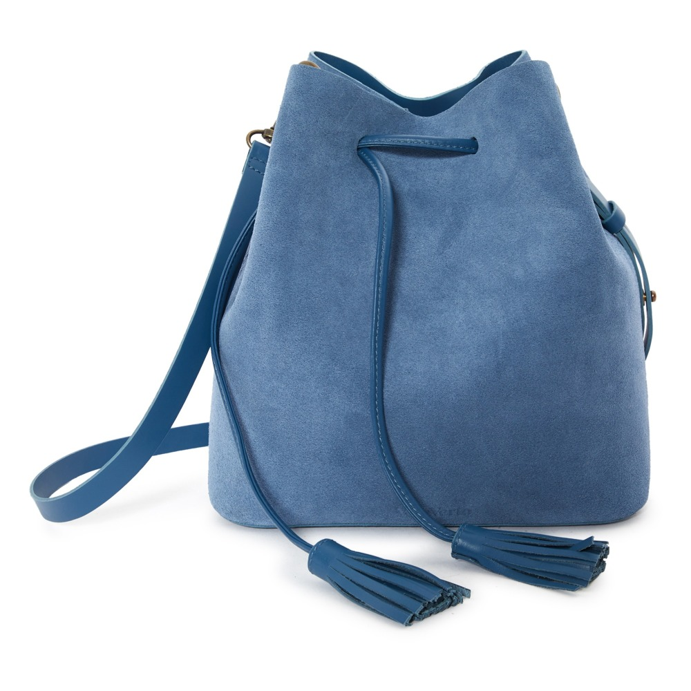 329a8e4d5ab2 Dita Suede Bag Blue Vereverto Fashion Adult. «