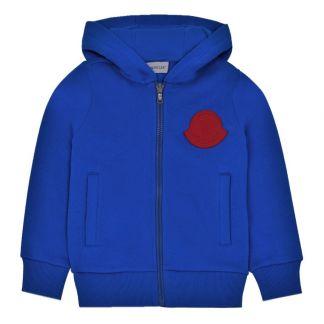 3282493bb Zipped Hoodie Blue