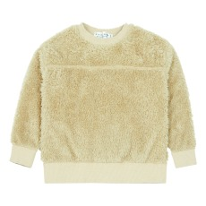 product-EAST END HIGHLANDERS Faux Fur Sweatshirt