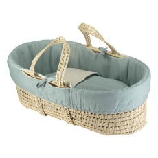 product-Camomile London Moses Basket - Set of 4 Reversible Coton Pieces