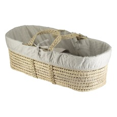 product-Camomile London Moses Basket - Set of 4 Checkered Pieces