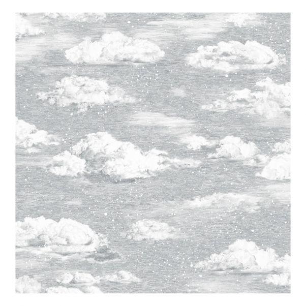 Papier Peint Classique Saisons Hiver Gris Sian Zeng Design