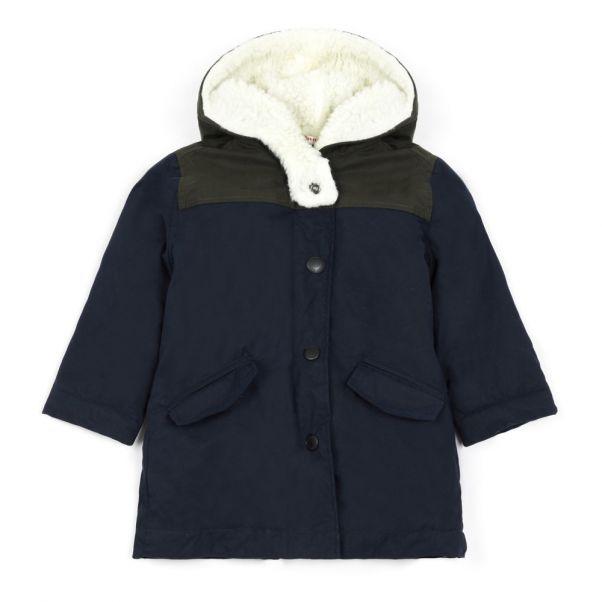 8fc5e917dfa Mode Adolescent Josy Morley Parka Bleu Marine Enfant aWFq1H0