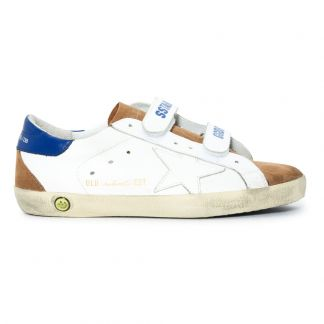 Golden Goose Deluxe Brand Old School Velcro Leather Trainers -listing 0c7b607f7