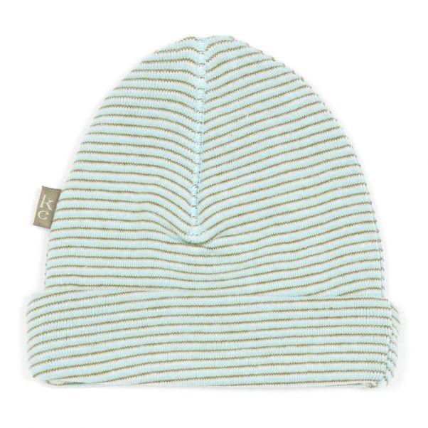 c9acfa21ab0c Bonnet Coton Bio Perrie Bleu Kidscase Mode Bébé