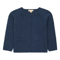 product-Lab - La Petite Collection Cotton and Merino Wool Cardigan