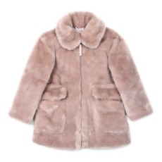 product-Stella McCartney Kids Carolyne Faux-Fur Coat