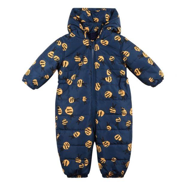e68ed6ba5 Puddle Bees Fur Lined Snowsuit Navy blue Stella McCartney Kids