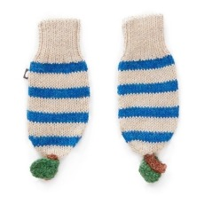 product-Oeuf NYC Baby Alpaca Wool Striped Mittens