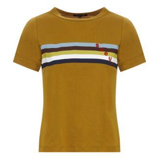 Camiseta Rayas Camiseta Rayas Cirilo Rayas Hermana Hermana Camello Camiseta Camello Cirilo HWEID29