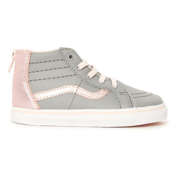 3aba84cd833c SK8-Hi Trainers Grey Vans Shoes Baby