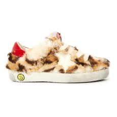 product-Golden Goose Deluxe Brand Baskets Léopard Lacets Superstar