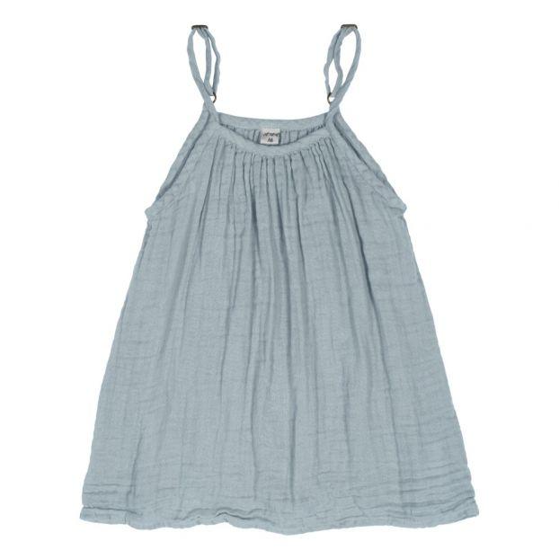 81983356ecf Robe Coton Bio Mia Sweet Blue S046 Numero 74 Mode Enfant