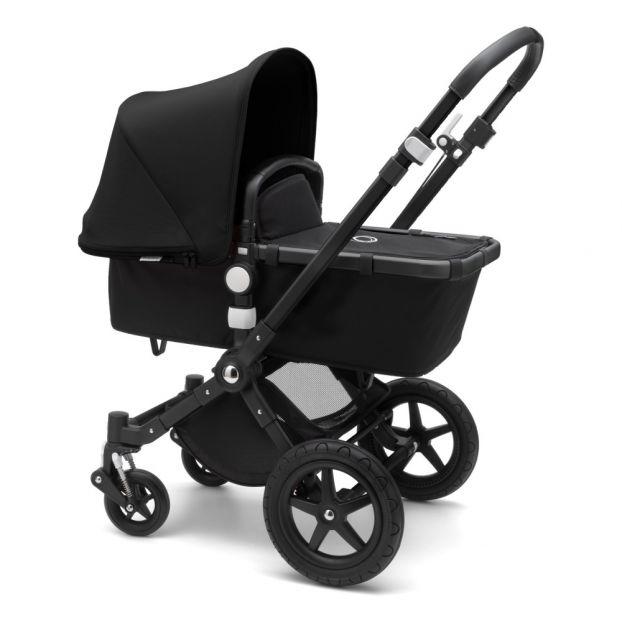 f7d318aab621 Cochecito completo evolutivo Camaleón 3 plus con chasis de aluminio  clásico, asiento negro, capazo