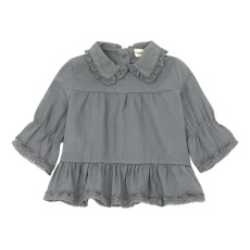 product-Babe & Tess Blouse Col Dentelle