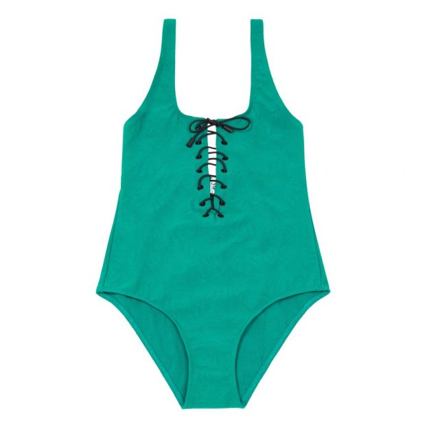 6be0dfeb5cd0b8 Badeanzug einteilig Sommerabende Grün Ysé Mode Erwachsene