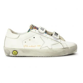 Pelle Sneakers School Old Strap Bianco 4j5R3AL