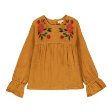 product-Hundred Pieces Flowers Bohemian Blouse