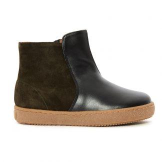 d17e4e0d9 Boots Bi-Matières Noir
