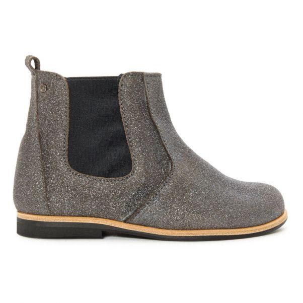 de Constance Gris Juan Chaussure Boots Manuela Chelsea Cuir HXqwzgnzE