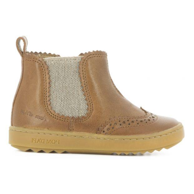 0905d716f62b6 Boots Woof Jodzip Camel Pom d Api Chaussure Bébé