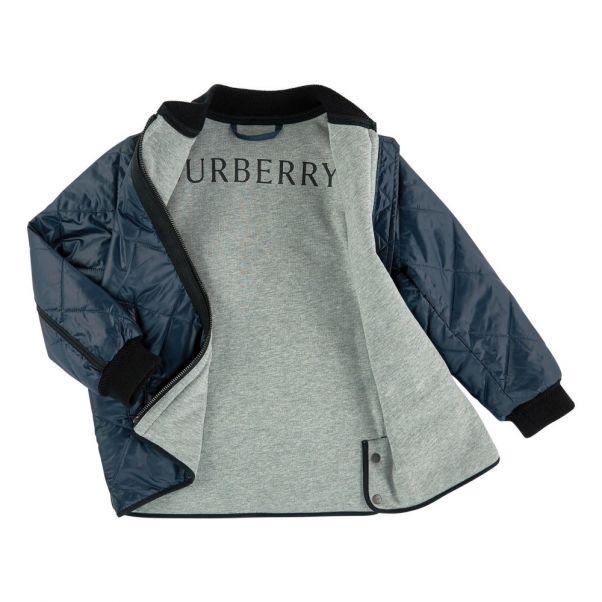 Burberry Manteau Enfant Long Adolescent Noir Mode Matelassé ttpzxU c0fa2b653820