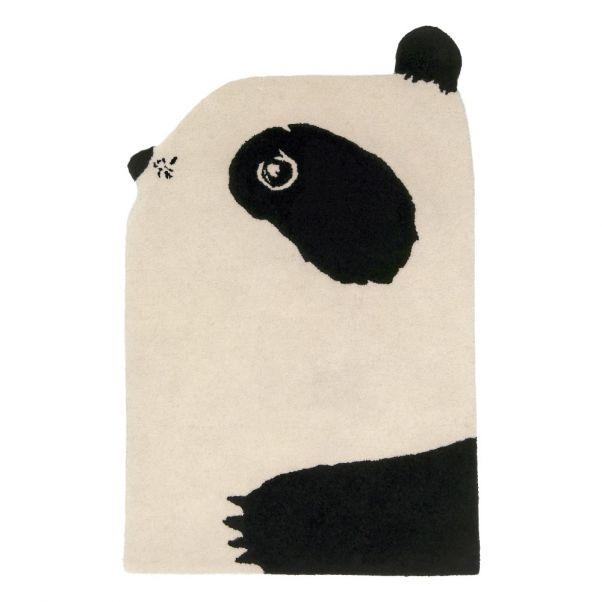 Tapis En Laine Panda Eo Elements Optimal Design Enfant