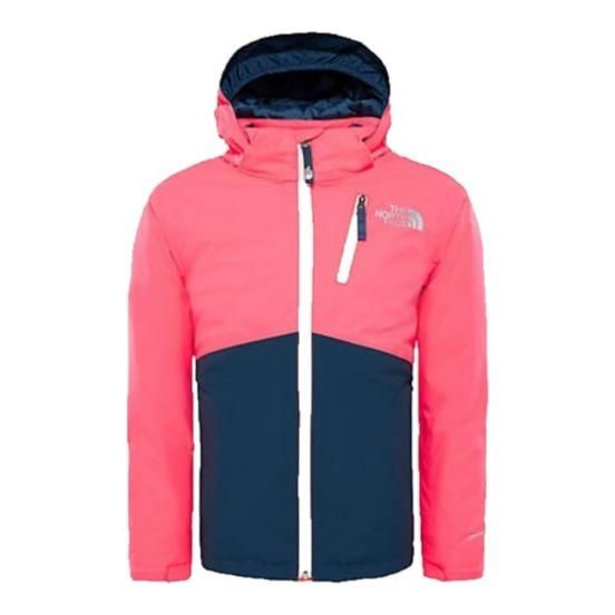 1b9d8060c6 Snowquest Plus Ski Jacket Coral The North Face Fashion Teen ,