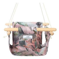 product-Le Petit Renard Jungle Cotton Baby Swing