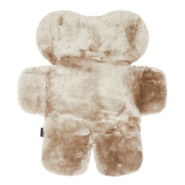 2f632c4db8 Sheepskin Bear Rug Taupe brown FlatOut Bears Design Baby