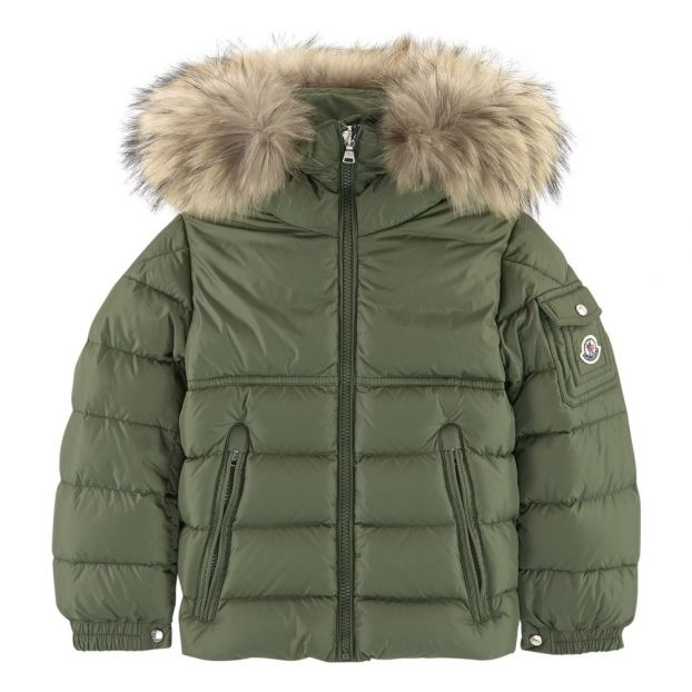 New Byron Down Jacket  Olive Green by Smallable