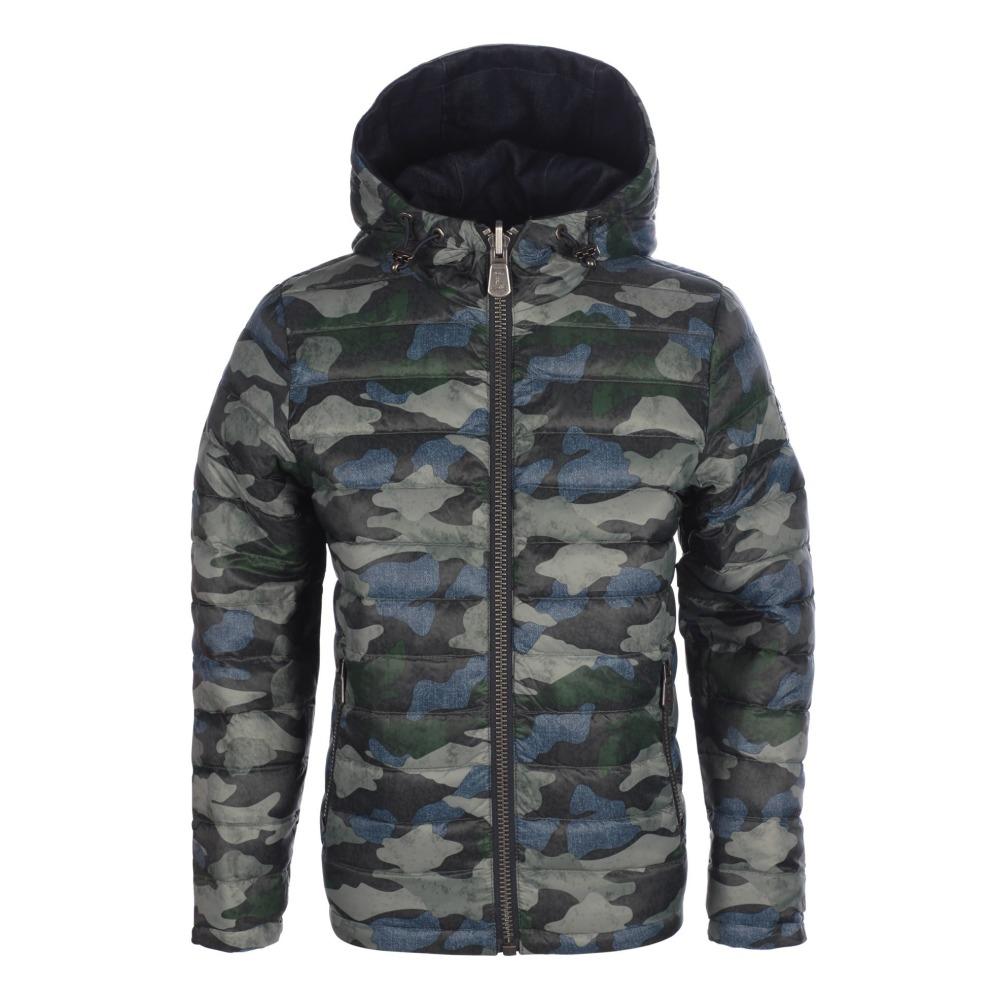 Adolescent Mode Jott Tokyo Réversible Camouflage Vert Doudoune wXZYqY dfc98b376e9