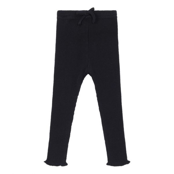 Leggings Milo Bee Schwarz Moumout Mode Baby Kind