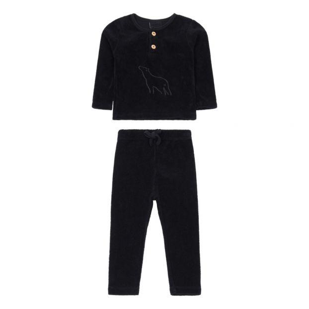 6671de2833293 Pyjama Eponge Ours Noir Moumout Mode Bébé