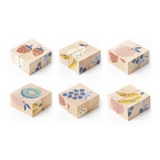 product-Nobodinoz Cubes en bois fruits