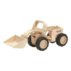 product-Plan Toys Buldozer en bois Edition collector