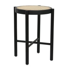 product-HKliving Retro Stool with Cane Webbing