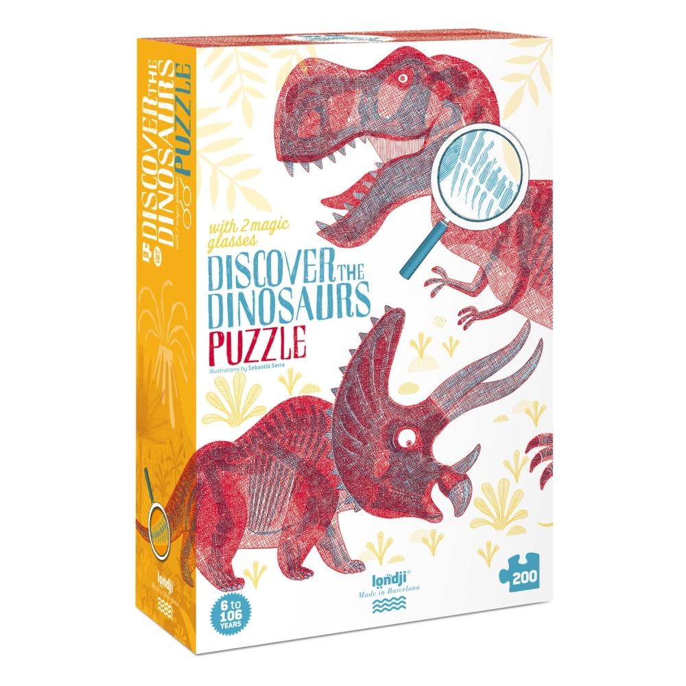 Puzzle Descubre los dinosaurios Londji Juguetes y Hobby Infantil