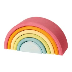 product-Grimm's Wooden Rainbow - 6 pieces