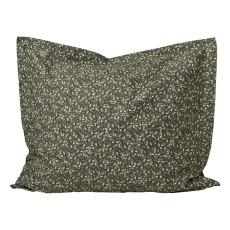 product-garbo&friends Floral Moss cotton percale pillowcase