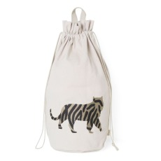 product-Ferm Living Kids Tiger organic cotton storage bag