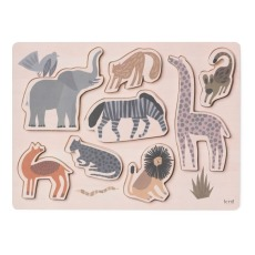 product-Ferm Living Kids Puzzle en bois Safari