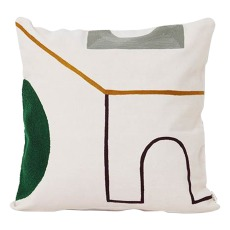 product-Ferm Living Mirage Gate Cotton Cushion