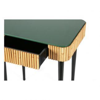 table basse tokyo double plateau noir maison sarah lavoine design. Black Bedroom Furniture Sets. Home Design Ideas