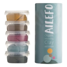 product-Ailefo Organic Modeling Clay -Set of 5